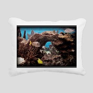 FISH 3 Rectangular Canvas Pillow