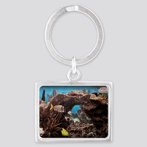 FISH 3 Landscape Keychain