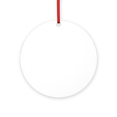 pie-day-white copy Round Ornament