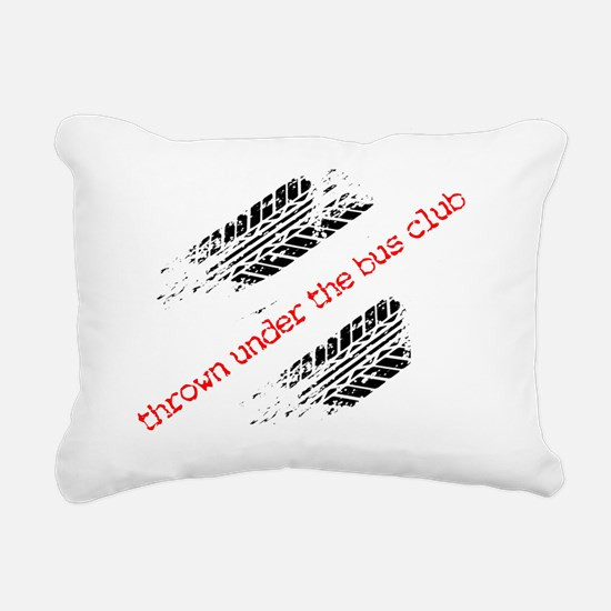 ThrownUnderTheBusFront c Rectangular Canvas Pillow