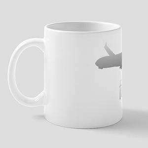 Flyboy Airline Pilot Dark Mug