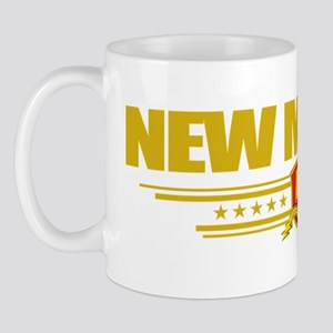 New Mexico (Flag 10) pocket Mug