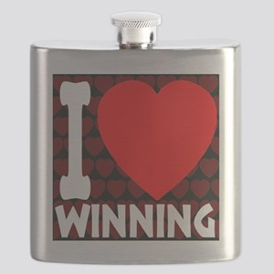 ilove_winning_blackandred_30percent Flask