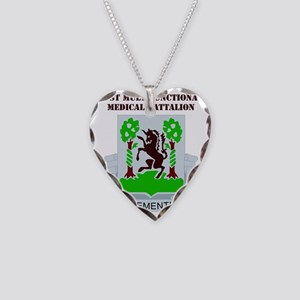 DUI-61ST MULT. MED. BN WITH T Necklace Heart Charm
