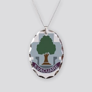 DUI-115TH COMBAT SUPPORT HOSPI Necklace Oval Charm