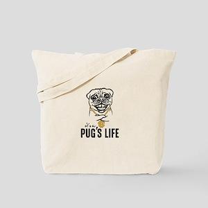 Pug's Life Tote Bag