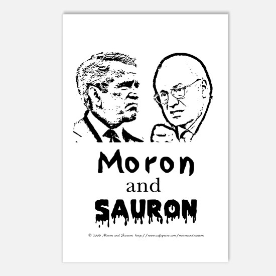 Moron and Sauron Postcards (Package of 8)
