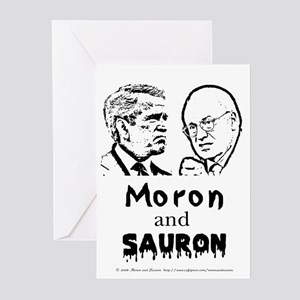 Moron and Sauron Greeting Cards (Pk of 10)