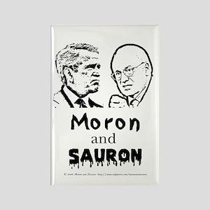Moron and Sauron Rectangle Magnet
