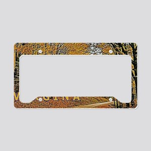 West Virginia Country Roads L License Plate Holder