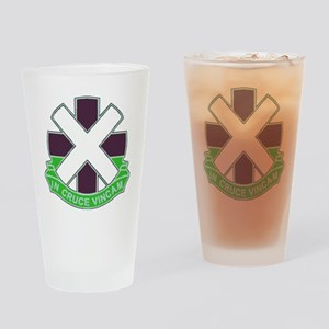 DUI-10TH COMBAT SUPPORT HOSPITAL Drinking Glass