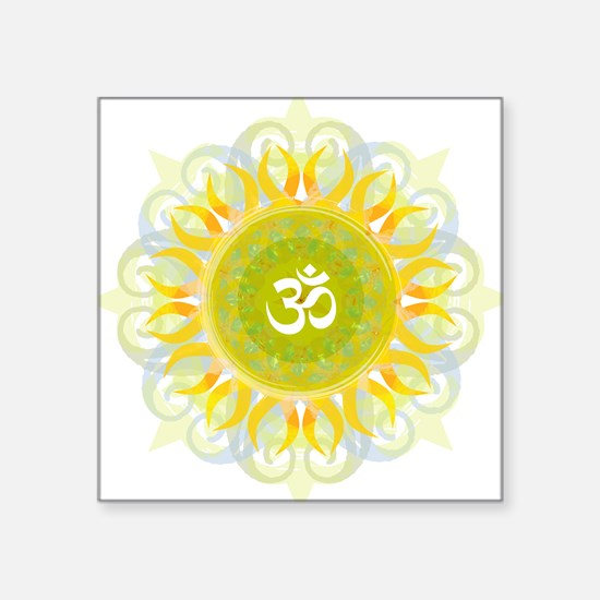 Om Mandala Sticker