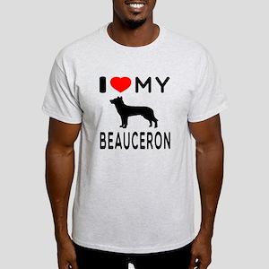 I Love My Beauceron Light T-Shirt