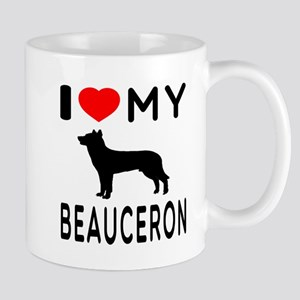 I Love My Beauceron Mug