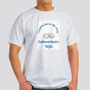 submariners wife Ash Grey T-Shirt