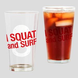 SQUATWH Drinking Glass