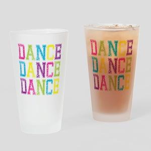 Dance3 Drinking Glass