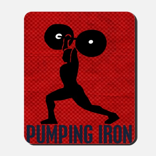 pumping_iron_78_ipad_case_red Mousepad