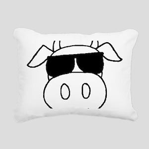4-dark Rectangular Canvas Pillow