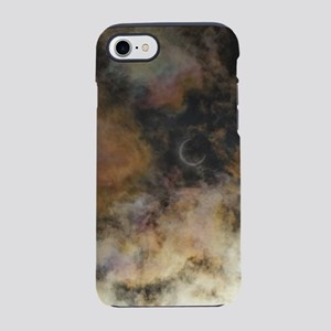 Solar Eclipse and Clouds iPhone 7 Tough Case
