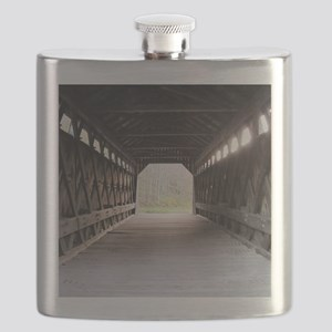 wooden bridge squared Flask