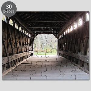 wooden bridge squared Puzzle