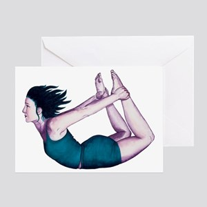 Portraits Of Yoga Greeting Card