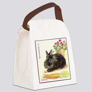 burgess_tile Canvas Lunch Bag