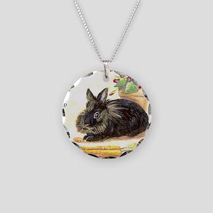 burgess_tile Necklace Circle Charm