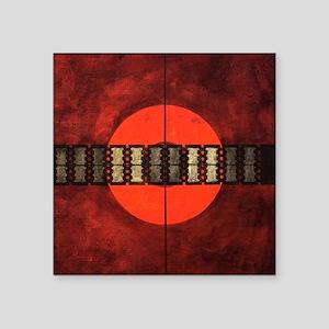 "Painting_7185_CrosshairShar Square Sticker 3"" x 3"""