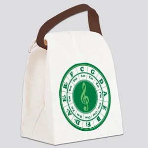 Cof5Ca2Green3a1 Canvas Lunch Bag