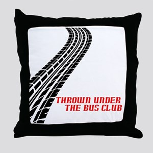 BusCurve copy Throw Pillow