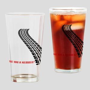 BusCurveBack copy Drinking Glass