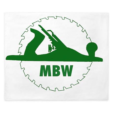 MBW GREEN King Duvet