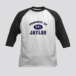 Property of jaylee Kids Baseball Jersey