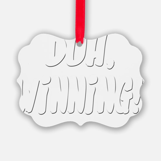 winning2 Ornament