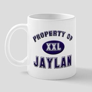 Property of jaylan Mug