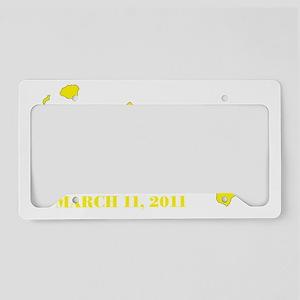 hawaiitshirttran2 License Plate Holder
