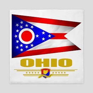 Ohio (Flag 10) Queen Duvet