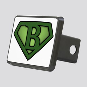 Super green b Rectangular Hitch Cover