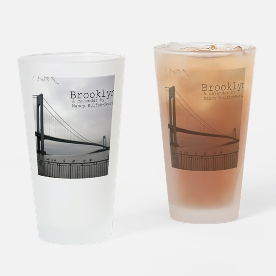 brooklyn cover Drinking Glass