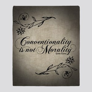 conventionality-is-not-morality_b Throw Blanket
