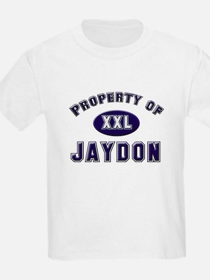 Property of jaydon Kids T-Shirt