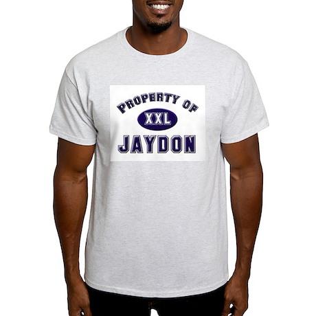 Property of jaydon Ash Grey T-Shirt
