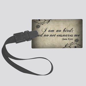 no-net-ensnares-me_13-5x18 Large Luggage Tag