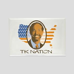 TK Nation Rectangle Magnet