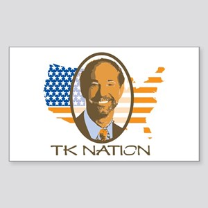 TK Nation Rectangle Sticker