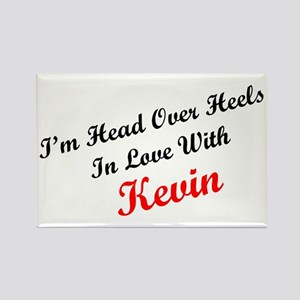 In Love with Kevin Rectangle Magnet
