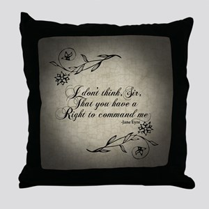 right-to-command-me_b Throw Pillow