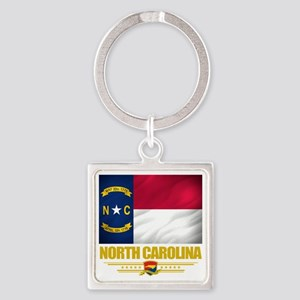 North Carolina (Flag 10) Square Keychain